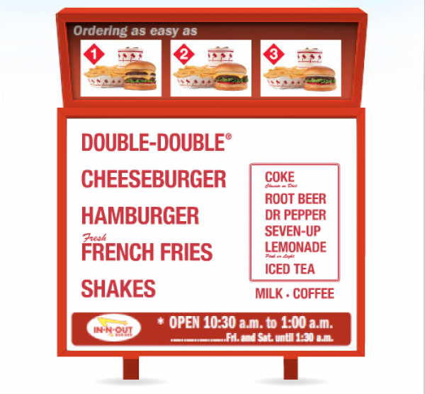 In N Out Menu >> In-N-Out Burger – The Basics of In-N-Out Burger – In-N-Out Burger Secret Menu