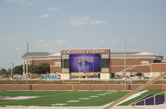 UMHB Crusaders Stadium - Townsquare Media Photo