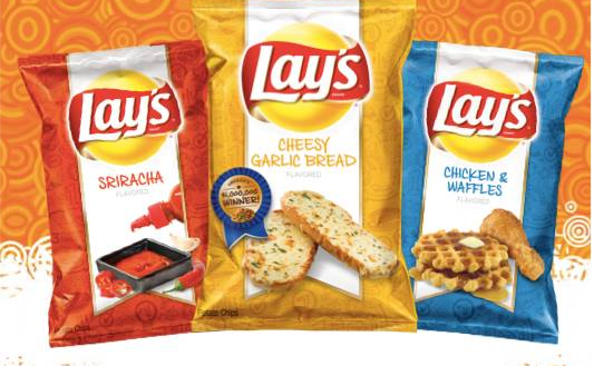 Lay's Releases Chocolate Dipped Chips