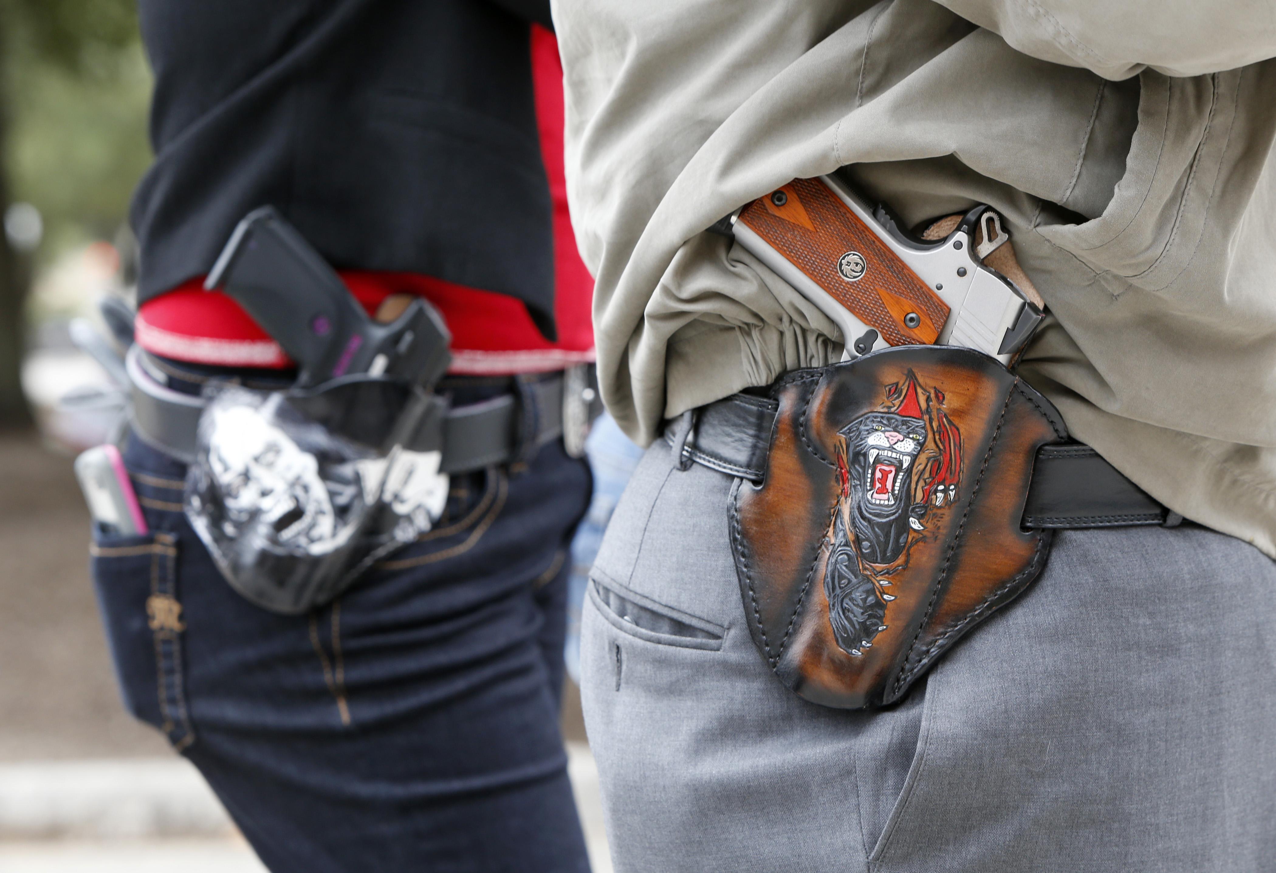 Open carry gun
