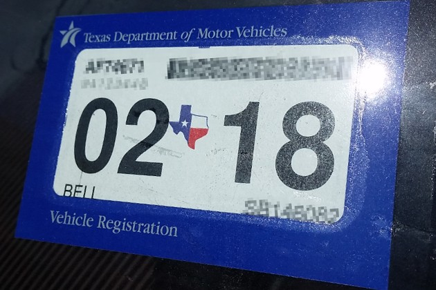 New car inspection rules in texas